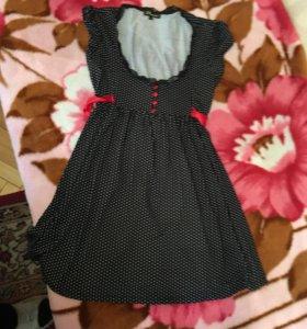 Платье трикотажное. 42-46