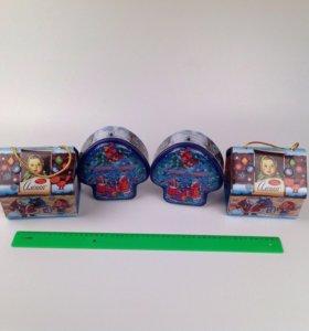 металлические коробочки для подарков