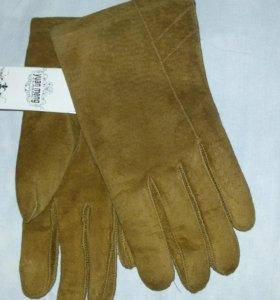 Новые Замшевые перчатки