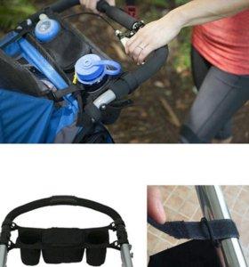 Новая сумка-органайзер для коляски или санок