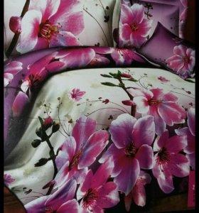 Постельное бельё 2-ух спальный комплект белья