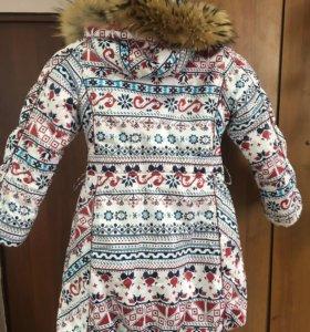 Зимняя куртка размер 116-122