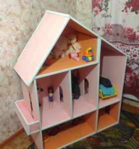 Детский домик для игрушек