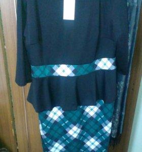 Новое платье 56 р