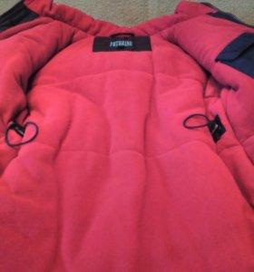 Куртка новая детская зимняя на мальчика р.116