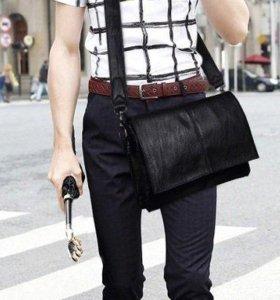 Качественная Удобная Мужская сумка-клатч