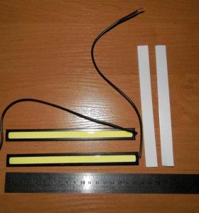 ХОДОВЫЕ ОГНИ LED-DRL HDX-COB-17CM 24V W (2 ШТ)
