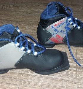 Лыжные ботинки,детские