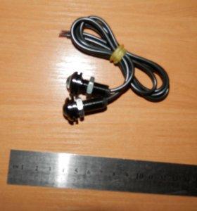ХОДОВЫЕ ОГНИ LED-DRL HDX-D014 W (2 ШТ)