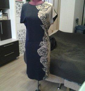 Платье трикотаж 46