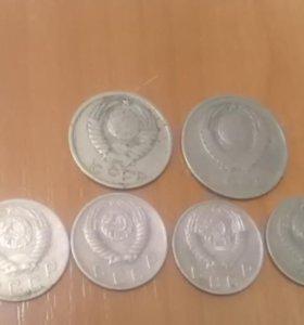 Монеты поздние советы