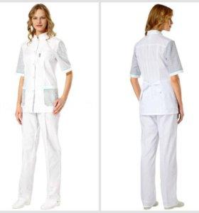 Медицинский халат , костюм, штаны