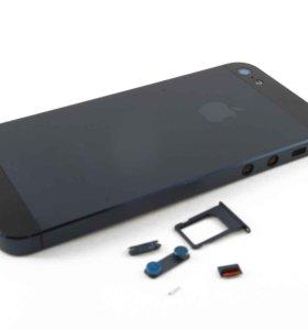 Задняя крышка apple iphone 5 черный