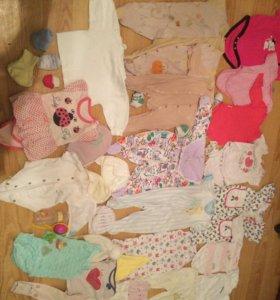 Детские вещи на девочку 62-74