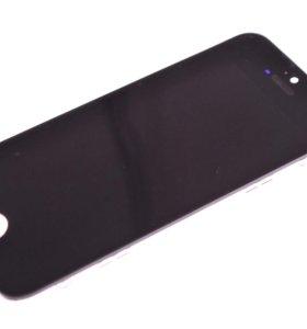 Дисплей apple iphone 5s  в сборе с сенсором черный