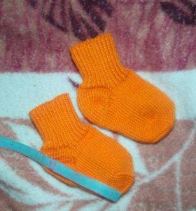 Носочки теплые