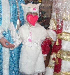Новогодний карнавальный костюм кошечки