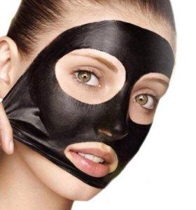 Черная маска Pilaten Suction Black Mask 6гр.