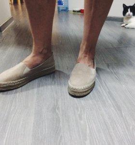 Эспадрильи, обувь женская, 39 р-р. (Туфли)