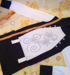Платье-туника нарядное на 116