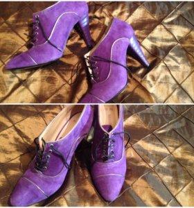 Обувь замшевая Calipso