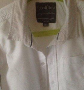 Белая рубашка плотненькая