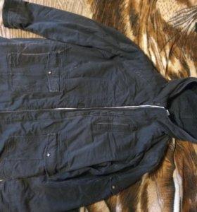 Куртка мужская парка Reebok весенняя, осенняя
