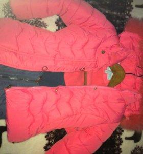 Зимняя куртка и штаны-комбинезон