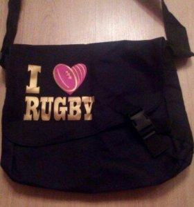 "Сумка ""I love Rugby"""