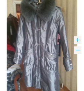 Пальто осенне, пуховик зимний
