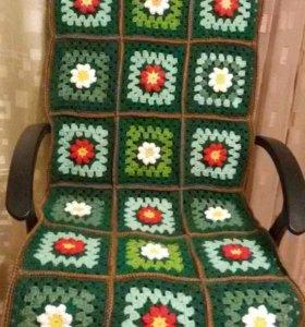 Коврик - накидка на кресло