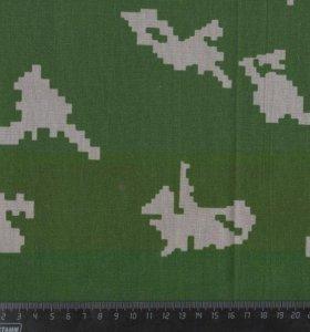 Ткань бязь камуфляж