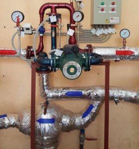 Монтаж систем отопления и водоснабжения. Котельные