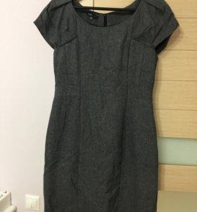 Платье серое р46 Odgi