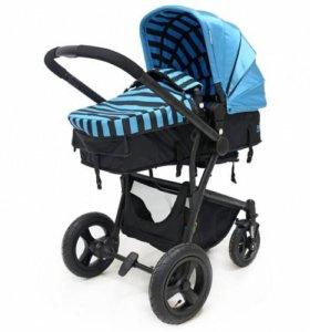 Новая коляска Select, голубой, доставка