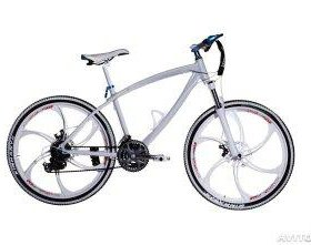Брендовый велосипед на литых дисках
