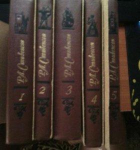 Р.Л.Стивенсон коллекция 5 томов