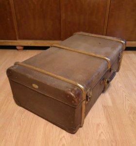 Трофейный германский чемодан клеймо