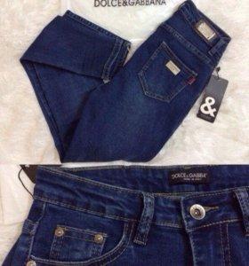 Синие джинсы DG