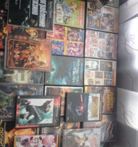 DVD мультики и фильмы