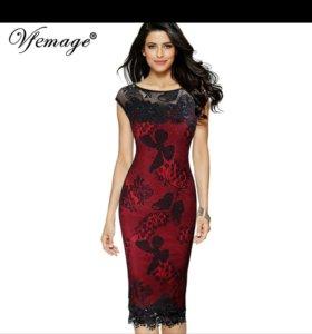 Платье новое. 48-50. 46 размер черное