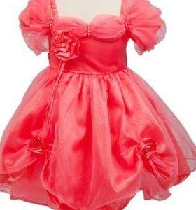 Скидка! Платье розовое новое
