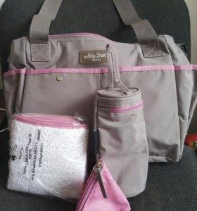 сумки на коляску новые