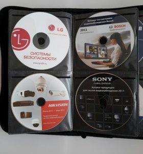 Портмоне для дисков CD DVD BR