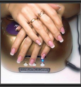 Моделирование ногтей гелем