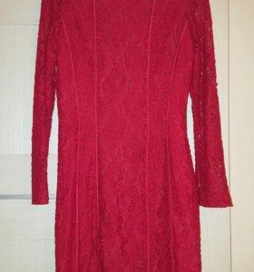 Красное нарядное платье Zarina
