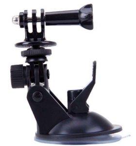 Крепление присоска для экшн камеры 📸