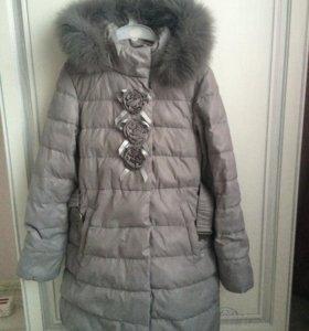 Пальто зима р.132