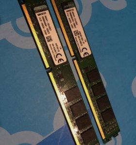 Память 2*4 8GB DDR 3 kvr16n11/8 4 * 2