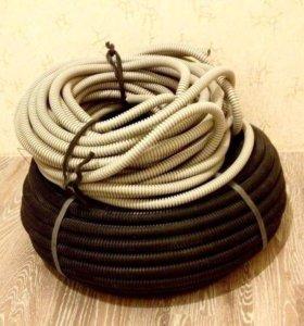 Гофра под кабель, видео-кабель и шланг для воды